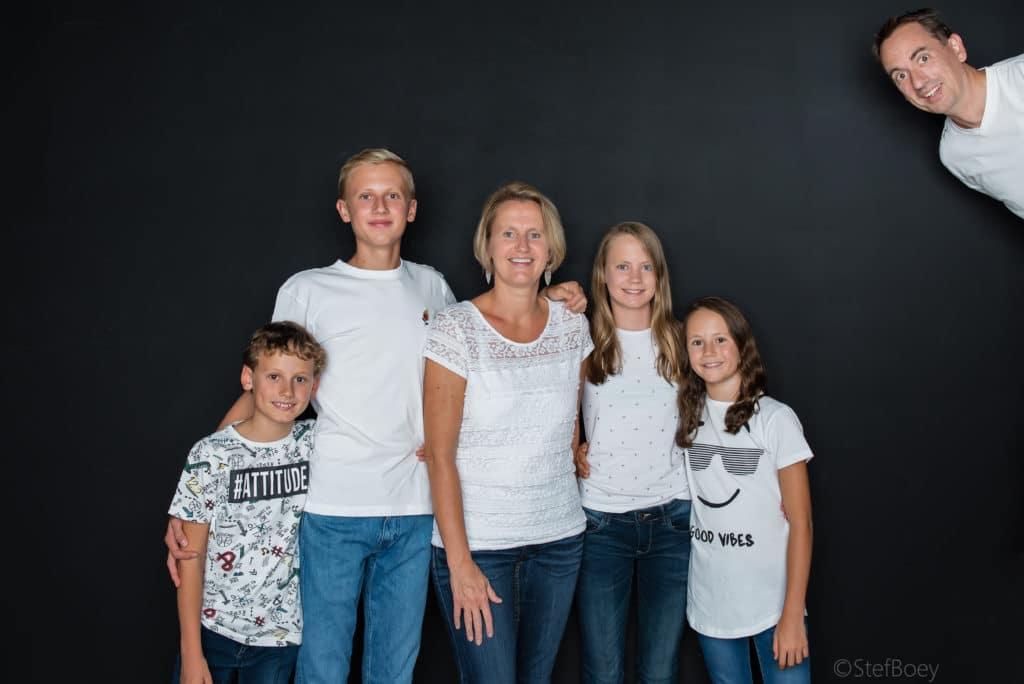 familiefoto van den eynde
